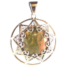 Celtic Star w/ Stone .925 - 3394