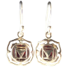 Chakra - Muldahara, Root - Earrings - 3452