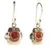 Chakra - Svadhistana, Sacral - Earrings  .925 - 3454