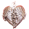 Locket - Heart Wings - 3465