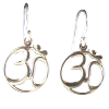 3593 - Earrings - Om .925
