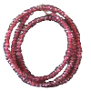 Chain - Faceted Red Garnet 3mm Ext - 3640