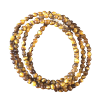 Chain - Tiger Eye beads 3mm - 3793