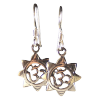 Om - 8 Point Earrings - 3830