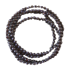 Chain - Onyx - Black - Beads 3mm - 3948