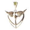 Angel Heart w/Gemstone .925 - 3971