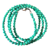Chain - Malachite/Green beads 3mm - 4043