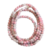 Chain - Rhodonite Beads 3mm - 4146