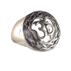 Om - Celtic Stencil - Ring .925  -  4176