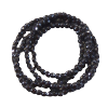 Chain - Onyx Faceted 4182