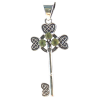 Key - Celtic w/ Peridots .925 - 4187