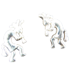 Kokopeli Earrings - 4291