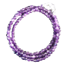 Chain - Agate - Purple Faceted - 4319