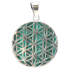 Flower of Life Malachite (MM) - 4329