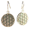 Flower of Life Malachite (MM) .925 - 4330