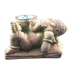 Ganesh Relax Candle Holder - 4397