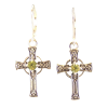 Celtic Cross Earrings - 4405
