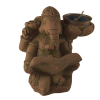 Ganesh Reading - Candle Holder - 4617