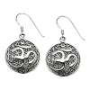 Flower of Life Om - Earrings - 4793