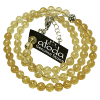 Necklace - Citrine - 6mm - 4813