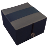Jewellery Box - Blue - Ribbon - Small - 4825