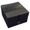 Jewellery Box - Blue - Elephant - Small - 4827