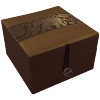 Jewellery Box - Gold - Elephant - Small - 4831