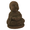 Monk - Incense Holder Sitting (2pcs) - 4872