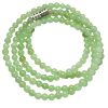 Necklace - Burma Jade -  3mm - 4951