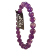 Bracelet  - Amethyst 8mm Faceted - 5123