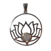 Lotus Moonstone #1 - Pendant - .925 - 5132