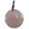 Disk Love - Rose Quartz - 5143