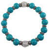 Crystal Star Mala Turquoise Howlite - 5204