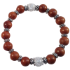 Crystal Star Mala - Wood - 5206