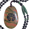 Engrave Tree of Life - Unakite - 5234
