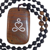 Necklace - Infinity Meditation - Iron Tiger Eye - 5235