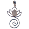 Lotus - Moonstone - Pendant .925 - 5245