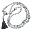 Mala Necklace - Howlite - 5396