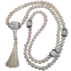 Necklace  - Mala 108 - Pearl/Howlite - 5402