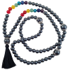 Mala - Necklace/Chakra Black Diamond - 5408