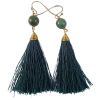 Earrings - Jade - 5425