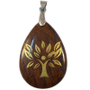 Engrave Tree Life - Tiger Eye - 5565