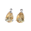 Citrine Dewdrop Earrings .925 - 5850