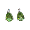 Peridot Dewdrop Earrings .925 - 5853