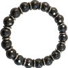 Hematite Facteted Rhodium 8mm Child - 5909