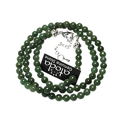 Necklace - Jade 6mm - 5002