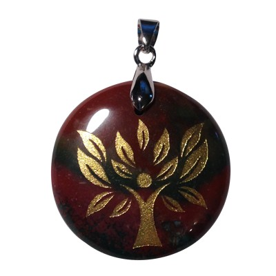Disk Tree of Life - Blood Stone - 5041