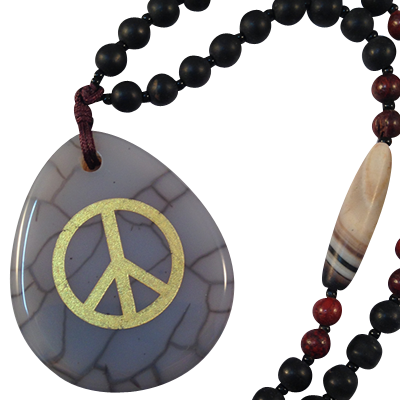 Peace - Grey Spider Agate - 5233