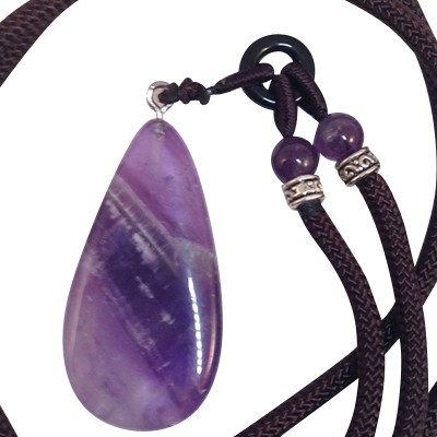 Necklace - Amethyst  - 6mm - 5250