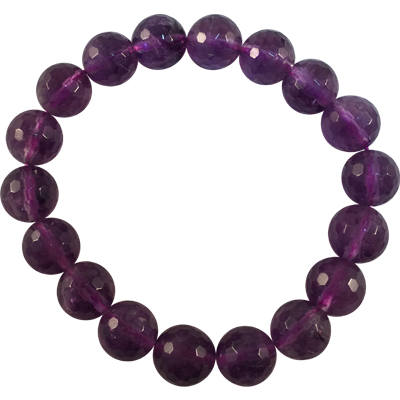 Amethyst Faceted 12mm - 5805